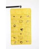 My Gift Booth Non-Woven & PVC Yellow Jewellery Organiser
