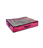 My Gift Booth Non-Woven Pink Under Bed 10 Slots Shoe Organiser