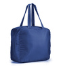 My Gift Booth Nylon Navy Blue Small Travel Bag