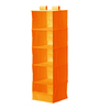 My Gift Booth Nylon Orange Wardrobe Organiser