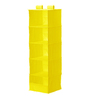 My Gift Booth Nylon Yellow Wardrobe Organiser