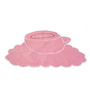 My Gift Booth Pink Cotton Tea Time Placemats - Set of 6