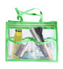 My Gift Booth PVC Lime Green & Transparent Purse Organiser