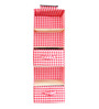 My Gift Booth Cotton Red Wardrobe Organiser