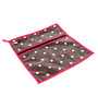 My Gift Booth Cotton & PVC Brown Clothes Organiser Set of 2