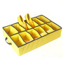 My Gift Booth Non-Woven Yellow Shoe Organiser