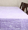 My Gift Booth Vintage Print Mauve Cotton Table Cover