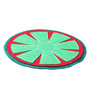 My Gift Booth Watermelon Green & Red Felt Coaster - Set of 6