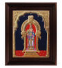 Myangadi Multicolour Gold Plated Alangaram Framed Tanjore Painting