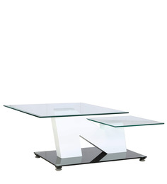 N Shaped Center Table in Black Colour by Parin