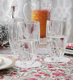Nachtmann Glass 385 ML Long Tumbler - Set of 4