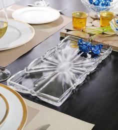 Nachtmann Rectangular Transparent Glass Plate