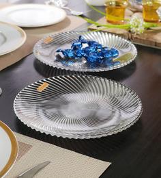 Nachtmann Samba Salad Glass Plates - Set of 2