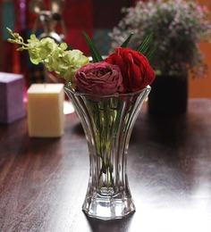 Nachtmann Transparent Crystal Saphir Vase