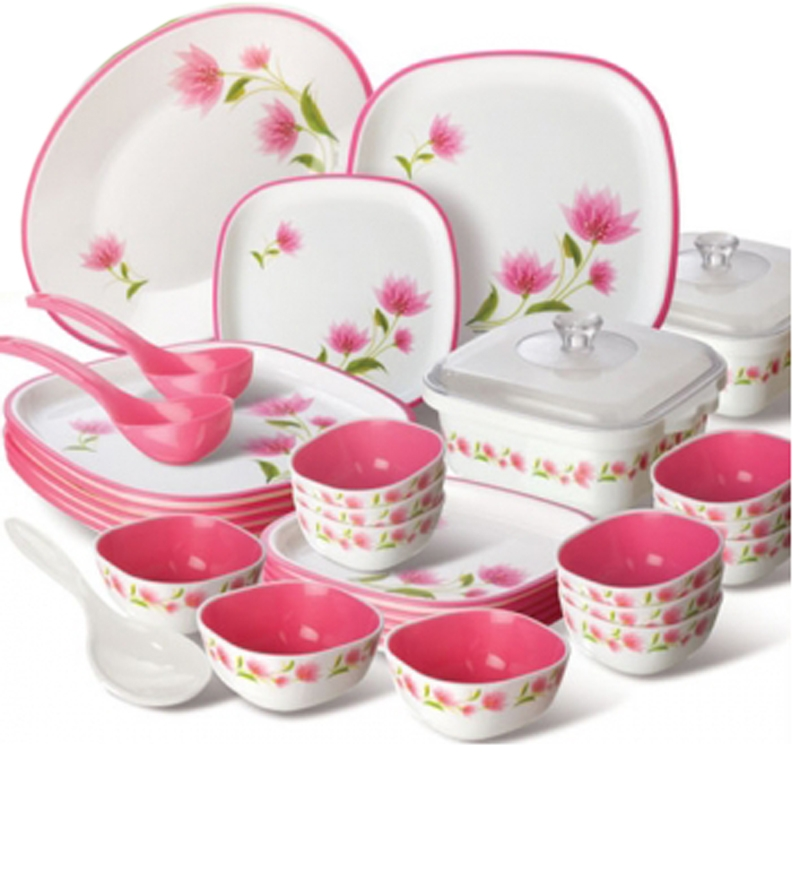 Kitchen cabinets for sell - Nayasa Floral Dinnerware Set Of 32 By Nayasa Online