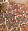 Naera Area Rug 91 x 63 Inch in Multicolour by Amberville