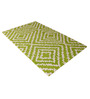 Naesmyth Area Rug 91 x 63 Inch in Green by Amberville