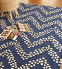 Nahum Area Rug 91 x 63 Inch in Blue by Amberville