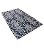 Nalder Area Rug 91 x 63 Inch in Blue by Amberville