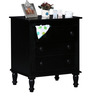 Bocconi Chest of Drawers in Espresso Walnut Finish by Amberville