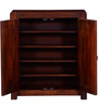Dover Shoe Rack in Honey Oak Finish by Woodsworth