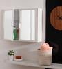 Navrang Ivory Acrylic Elegant Cabinet