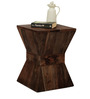 Naxos Solid Wood Stool in Provincial Teak Finish by TheArmchair