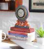 NB Home Interior  Multicolour MDF 8 x 1 x 9 Inch Desk Clock