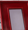 NB Home Interior  Red MDF Photo Frame
