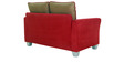 New Windsor Two Seater Sofa in Red Colour by Furnitech
