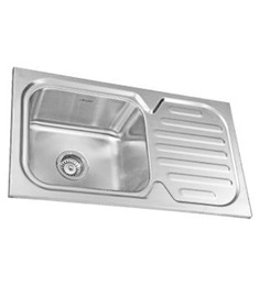 Neeelkanth Montelo 3218 Matt Stainless Steel Single Bowl Single Drain Sink