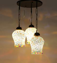 New Era Multicolor Glass Hanging Light