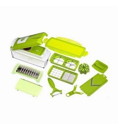 New Nicer Dicer Plus Multi Chopper Vegetable Cutter Fruit Slicer Peeler
