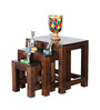 Toledo Set of Tables in Provincial Teak Finish by Woodsworth