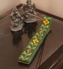 Neerja Green Ceramic Pottery Durable Agarbati Stand