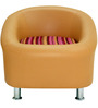 Nelson One Seater Sofa in Camel Colour by Furnitech