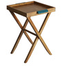 Nest End Table in Light Teak Colour by DwellDuo