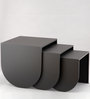 Nested Tables in Grey Colour by Indecrafts
