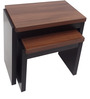 Set of Tables in Black & Acacia by Urban Influence