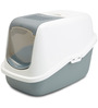 ABK Imports Nestor Cat Toilet Home 22x15x15 inches in Cold Grey