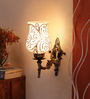 Alara Downward Wall Mounted in Antique Gold by Mudramark