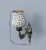 Sthagika Downward Wall Mounted in Antique Gold by Mudramark