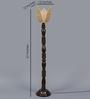 Tasarika Floor Lamp in Brown by Mudramark