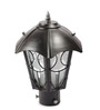 New Era Black Metal & Glass Gates Light