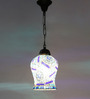 New Era Multicolour Metal 40W 7 x 4.5 x 21 Inch Hanging Lamp