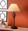 San Joaquin Table Lamp in Off White by CasaCraft