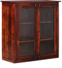 Leboeuf Crockery Cabinet in Honey Oak Finish by Amberville