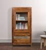 Newport Book Case in Warm Walnut Finish by Woodsworth