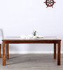 Newport Six Seater Dining Table in Warm Walnut Finish by Woodsworth