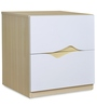 Newton Night Stand in Ivory Colour by @home